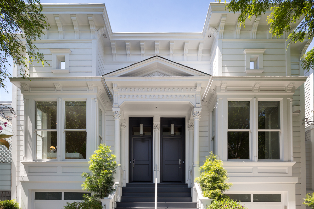 Modern Two-Unit Victorian Rowhouse