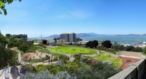 Beautiful New Design Plans Revealed for Francisco Park on Russian Hill