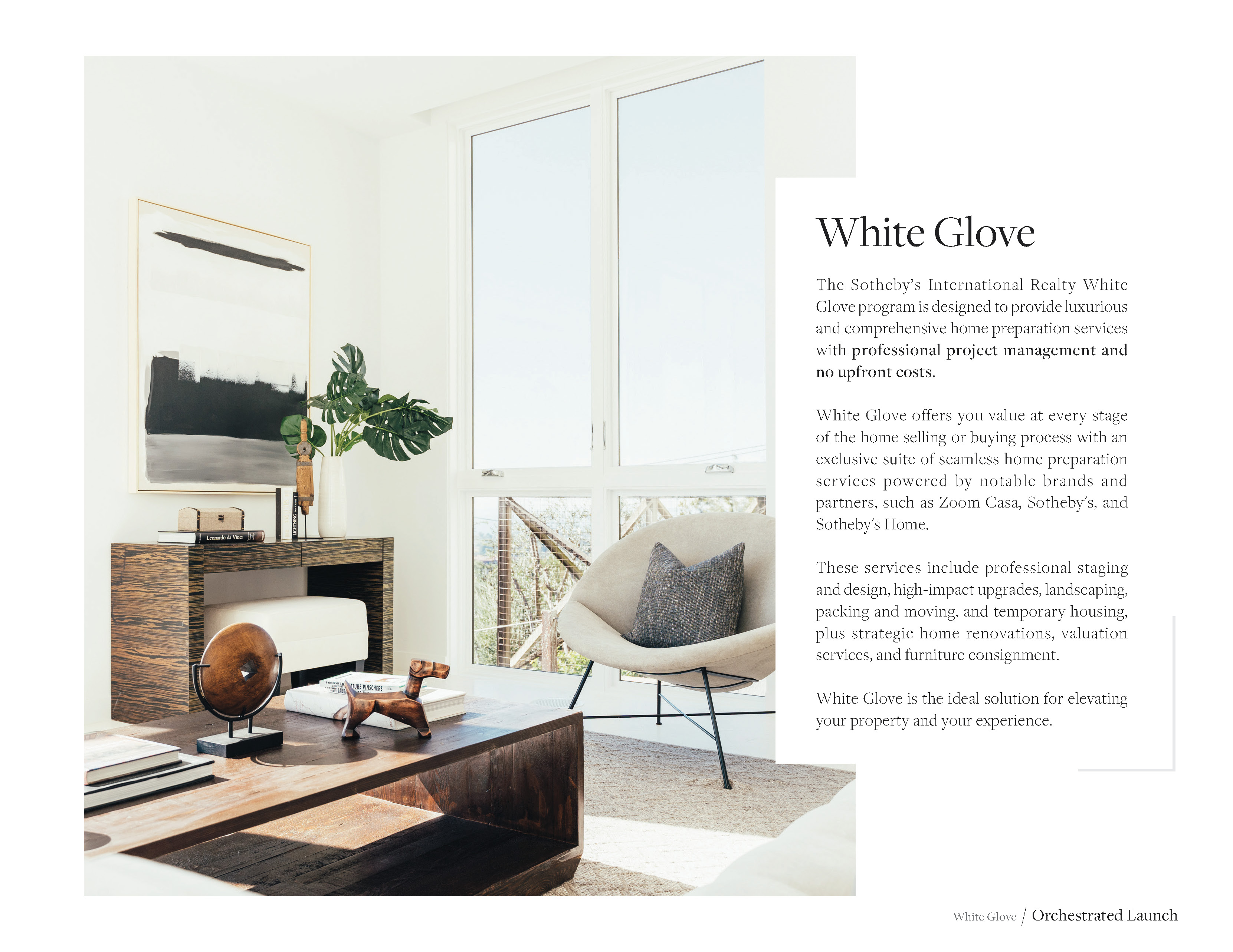 Discover seamless home preparation solutions through Sotheby's White Glove